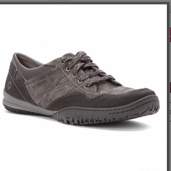 Merrell Shoes - Merrell Albany lace up shoes in granite 8